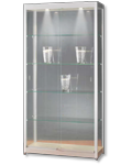 Glasvitrine 313 1000-Brushed
